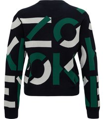 kenzo sweater with allover logo