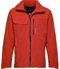 aston usx jkt outerwear rainwear rain coats röd didriksons