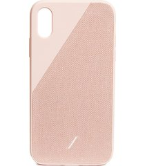 clic canvas iphone xr case - rose