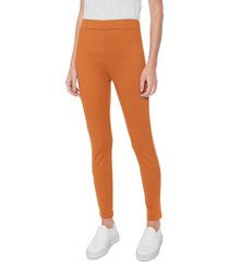 legging forum color caramelo