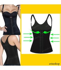underbust waist cincher vest trainer girdle control chaleco bodyshaper belt @1