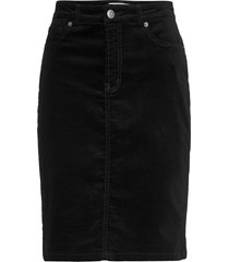 tille skirt knälång kjol svart inwear