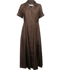 calvin klein collection long shirt dress