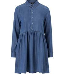 jeansklänning vmlibbie ls shirt dress
