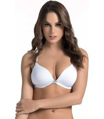 brasier triangular realce medio blanco st even