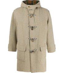 a.n.g.e.l.o. vintage cult 1990s duffle coat - grey