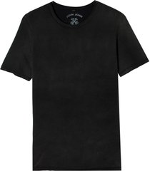 camiseta john john rx resist malha algodão cinza masculina (cinza chumbo, gg)