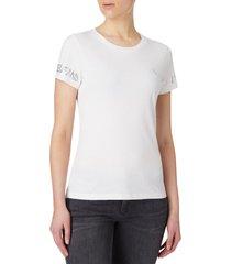 camiseta de algodón organico gris calvin klein