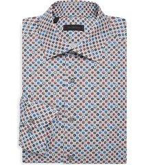 collection floral medallion cotton shirt
