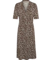 beniw wrap dress