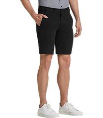 awearness kenneth cole awear-tech black modern fit shorts