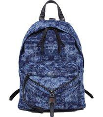 mochila le zipper le zipper backpack denim diesel