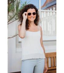 femme9 shirt / top wit gine