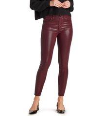 sam edelman denim stiletto coated skinny jeans