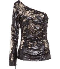 blusa feminina candice - preto