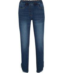 jeans con poliestere riciclato e cinta comoda (blu) - bpc bonprix collection