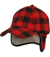 epoch hats company wool blend earflap cap with sherpa lining