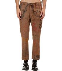pantaloni uomo dyed