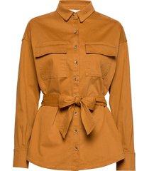 nancy shirt långärmad skjorta orange notes du nord