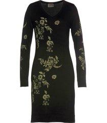 abito in maglia a fiori (nero) - bpc selection