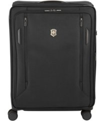 """victorinox swiss army vx avenue 27.5"""" large expandable softside spinner suitcase"""
