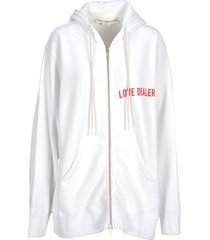 golden goose golden goose love dealer full-zip hoodie