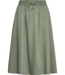 edel skirt knälång kjol grön makia