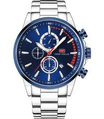 reloj análogo f0085g-4 hombre azul