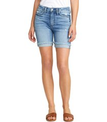 silver jeans co. sure thing long jean shorts