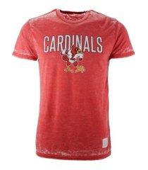 retro brands louisville cardinals men's mock twist t-shirt