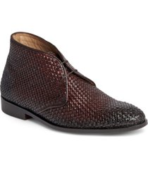 men's piano chukka dress casual leather boot men's shoes