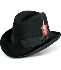 dorfman pacific men's wool homburg hat