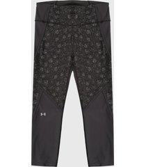 leggings negro-gris under armour ankle crop