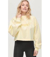 sweatshirt maya cropped sweater