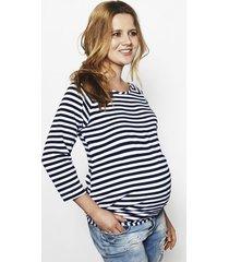 bluzka ciążowa simple w paski