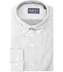 duetz1857 duetz 1857 casual overhemd tricot