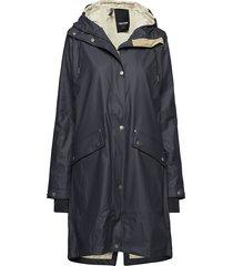 erna 2.0 raincoat regenkleding blauw tretorn