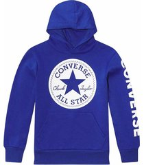 converse suéter fleece chuck taylor patch