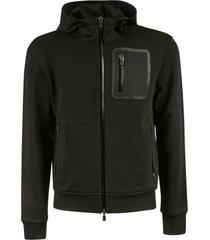 herno multi zip pocket hoodie