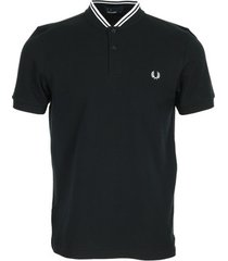 t-shirt fred perry bomber collar polo shirt