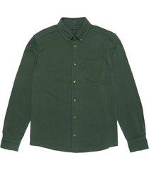 denham bridge shirt hj dark green