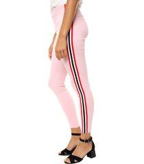 pantalón rosa asterisco