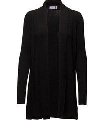 zubasic 61 cardigan gebreide trui cardigan zwart fransa