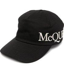 alexander mcqueen jersey hat with logo