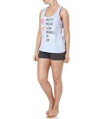 33e413e0e Pijamas - Feminino - Costas Nadador - 59 produtos com até 50.0% OFF ...