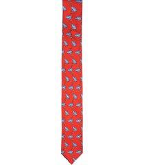 krawat winman czerwony classic 203