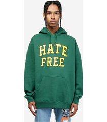 pleasures hate free hoody sweatshirt