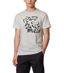boss men's tee 3 cotton t-shirt