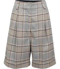 women's baum und pferdgarten nouga glen plaid high waist shorts