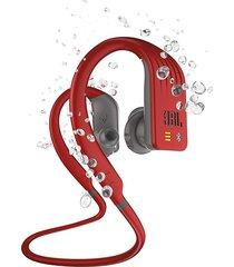 audífonos deportivos jbl endurance dive,bluetooth sumergible rojo